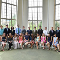 Senior Science students honored at Dean's Awards Luncheon